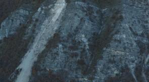 Pescia Rock Slide after October 2016 Earthquake