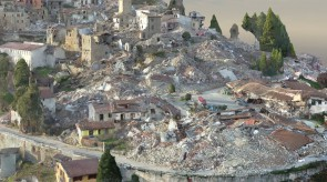 Accumoli after October 2016 Earthquake