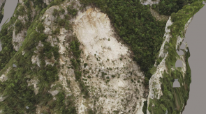 Small Nera Landslide July 2018